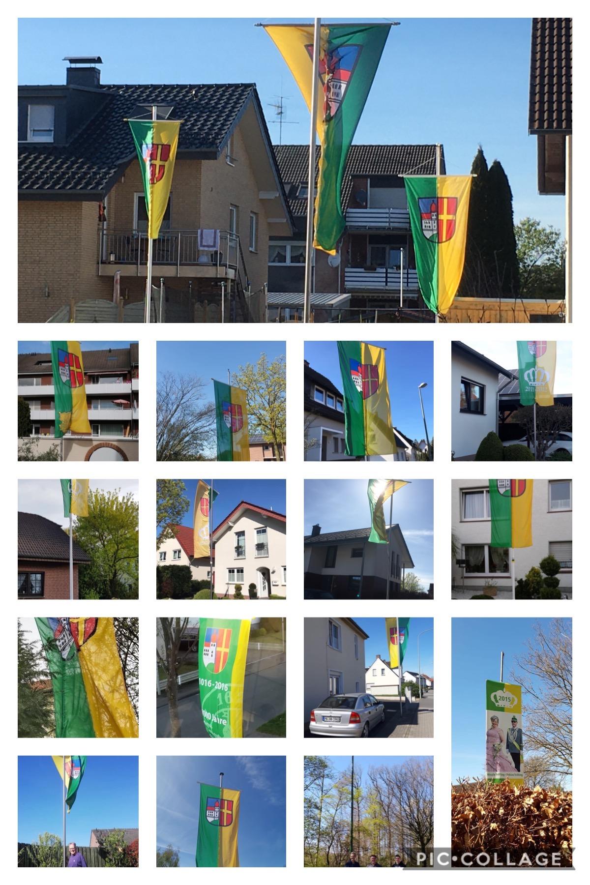 Flaggezeigen